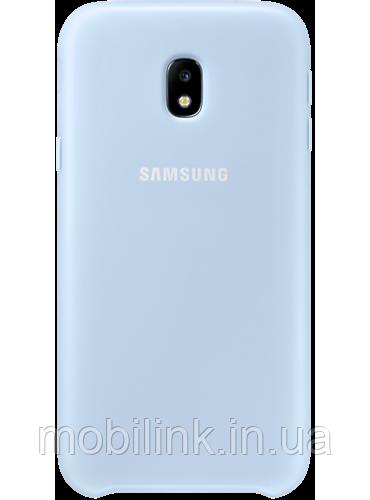 Чехол Samsung Dual Layer Cover Blue для Galaxy J3 (2017) J330