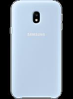Чехол Samsung Dual Layer Cover Blue для Galaxy J3 (2017) J330, фото 1