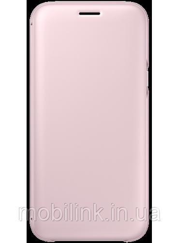 Чехол Samsung Wallet Cover EF-WJ530CPEGRU Pink для Galaxy J5 (2017) J530