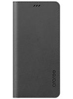 Чехол Araree Flip Wallet Leather Cover Charcoal Gray для Galaxy А8 (2018) A530, фото 1