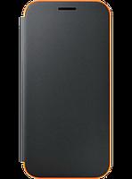 Чехол Samsung Neon Flip Cover EF-FA320PBEGRU Black для Galaxy A3 (2017), фото 1
