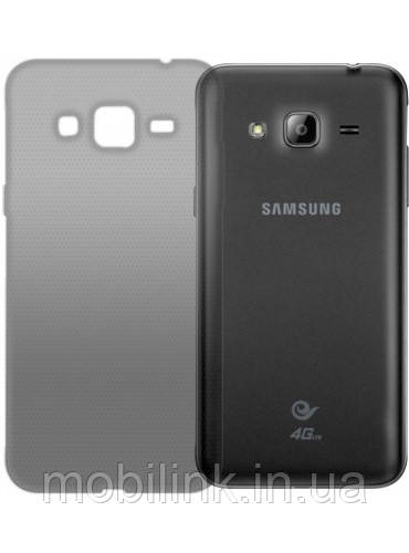 Чехол GlobalCase TPU Extra Slim для Samsung Galaxy J3 J320 Dark