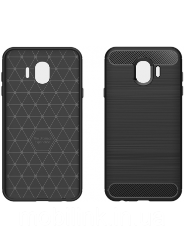 Чехол GlobalCase Leo для Samsung Galaxy J4 J400 Black