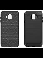 Чехол GlobalCase Leo для Samsung Galaxy J4 J400 Black, фото 1