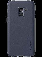 Чехол Araree Silicon Cover Blue для Galaxy А8+ (2018) A730
