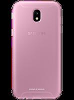 Чехол Samsung Jelly Cover EF-AJ530TPEGRU Pink для Galaxy J5 (2017) J530, фото 1
