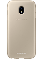 Чехол Samsung Jelly Cover EF-AJ330TFEGRU Gold для Galaxy J3 (2017) J330, фото 1
