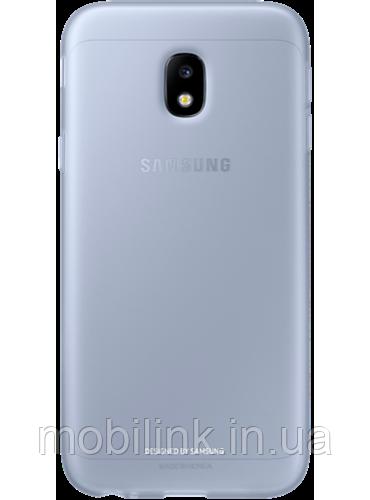 Чехол Samsung Jelly Cover EF-AJ330TLEGRU Blue для Galaxy J3 (2017) J330