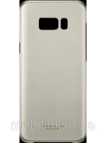 Чехол Samsung Clear Cover EF-QG955CFEGRU Gold для Galaxy S8+ G955