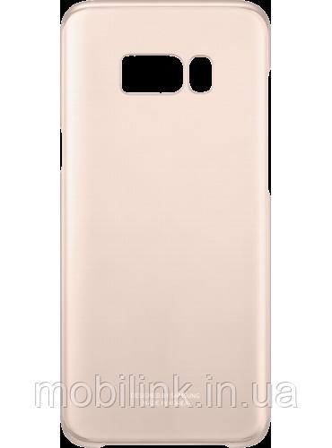Чехол Samsung Clear Cover EF-QG955CPEGRU Pink для Galaxy S8+ G955