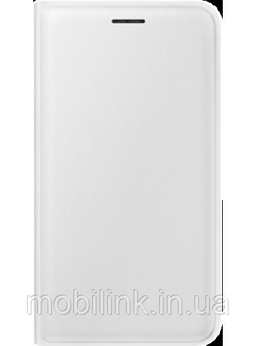 Чехол Samsung Flip Wallet EF-WJ120PWEGRU White для Galaxy J1 (2016)