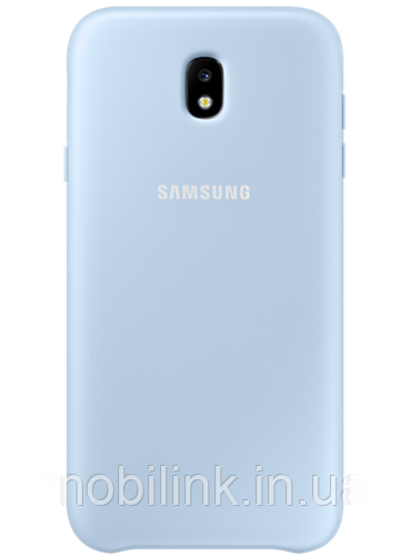 Чехол Samsung Dual Layer Cover EF-PJ730CLEGRU Blue для Galaxy J7 (2017) J730
