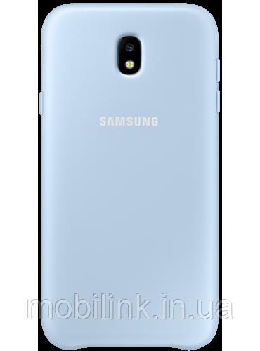 Чехол Samsung Dual Layer Cover EF-PJ730CLEGRU Blue для Galaxy J7 (2017) J730