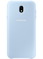 Чехол Samsung Dual Layer Cover EF-PJ730CLEGRU Blue для Galaxy J7 (2017) J730, фото 1
