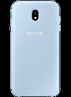 Чехол Samsung Dual Layer Cover EF-PJ730CLEGRU Blue для Galaxy J7 (2017) J730, фото 1