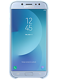 Чехол Samsung Dual Layer Cover EF-PJ730CLEGRU Blue для Galaxy J7 (2017) J730, фото 3