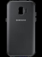 Чехол Samsung Dual Layer Cover Black для Galaxy J2 (2018) J250, фото 1