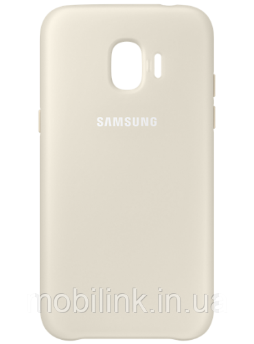 Чехол Samsung Dual Layer Cover Gold для Galaxy J2 (2018) J250