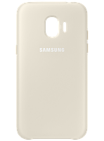 Чехол Samsung Dual Layer Cover Gold для Galaxy J2 (2018) J250, фото 1