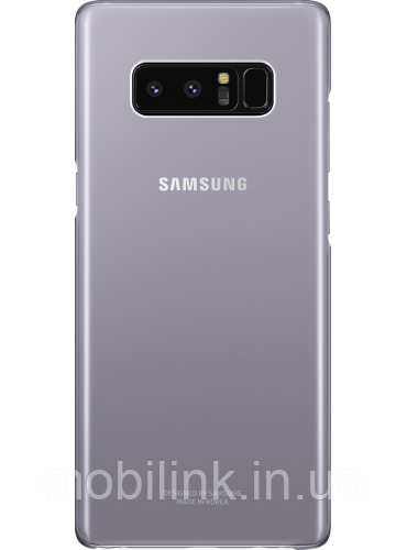 Чехол Samsung Clear Cover EF-QN950CVEGRU Orchid Gray для Galaxy Note 8 N950