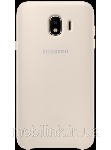 Чехол Samsung Dual Layer Cover Gold для Galaxy J4 (2018) J400
