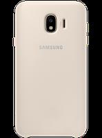 Чехол Samsung Dual Layer Cover Gold для Galaxy J4 (2018) J400, фото 1