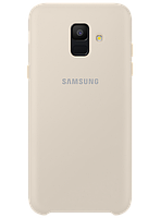 Чехол Samsung Dual Layer Cover Gold для Galaxy A6 A600, фото 1