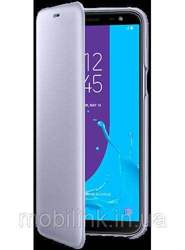 Чехол Samsung Wallet Cover Violet для Galaxy J6 J600