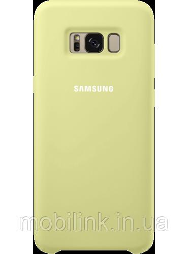 Чехол Samsung Silicone Cover EF-PG955TGEGRU Green для Galaxy S8+ G955
