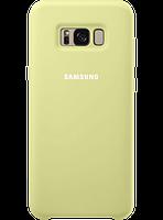 Чехол Samsung Silicone Cover EF-PG955TGEGRU Green для Galaxy S8+ G955, фото 1