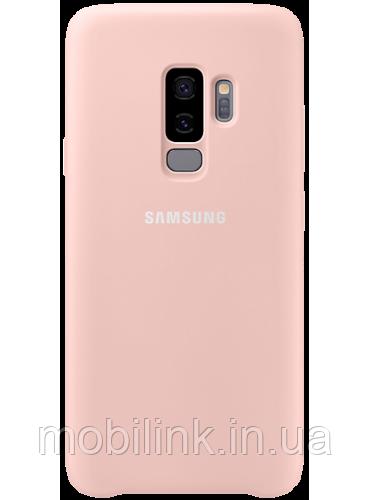 Чехол Samsung Silicone Cover Pink для Galaxy S9+ G965