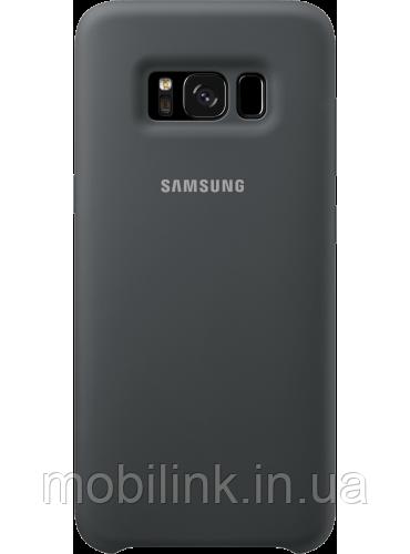 Чехол Samsung Silicone Cover EF-PG950TSEGRU Gray для Galaxy S8 G950