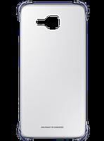 Чехол для Samsung A310 Clear Cover BLACK (EF-QA310CBEGRU), фото 1