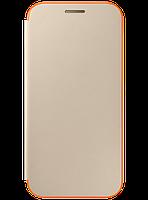 Чехол Samsung Neon Flip Cover EF-FA320PFEGRU Gold для Galaxy A3 (2017), фото 1