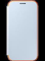 Чехол Samsung Neon Flip Cover EF-FA320PLEGRU Blue для Galaxy A3 (2017), фото 1