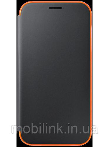Чохол для Samsung A720 Neon Flip Cover Black (EF-FA720PBEGRU) SAMSUNG