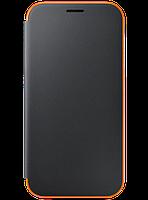 Чохол для Samsung A720 Neon Flip Cover Black (EF-FA720PBEGRU) SAMSUNG, фото 1