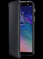 Чехол Samsung Wallet Cover Black для Galaxy A6 A600, фото 1