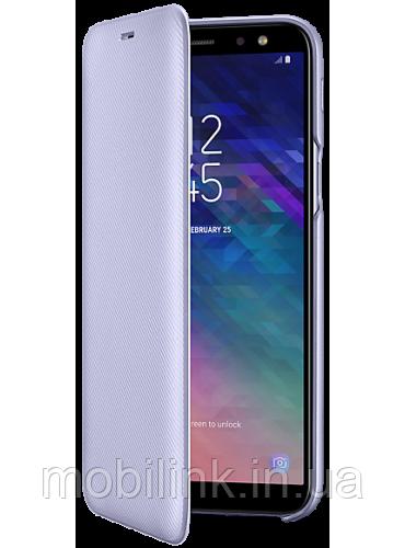 Чехол Samsung Wallet Cover Violet для Galaxy A6 A600