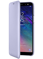 Чехол Samsung Wallet Cover Violet для Galaxy A6 A600, фото 1