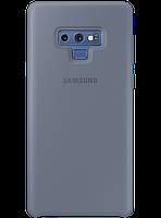 Чехол Samsung Silicone Cover Blue для Galaxy Note 9 N960, фото 1