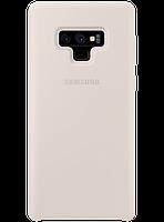 Чехол Samsung Silicone Cover White для Galaxy Note 9 N960, фото 1