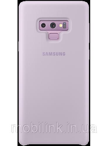 Чехол Samsung Silicone Cover Violet для Galaxy Note 9 N960