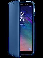 Чехол Samsung Wallet Cover Blue для Galaxy A6 A600, фото 1