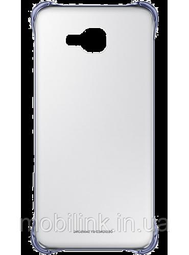 Чехол для Samsung A710 Clear Cover BLACK (EF-QA710CBEGRU)