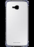 Чехол для Samsung A710 Clear Cover BLACK (EF-QA710CBEGRU), фото 1
