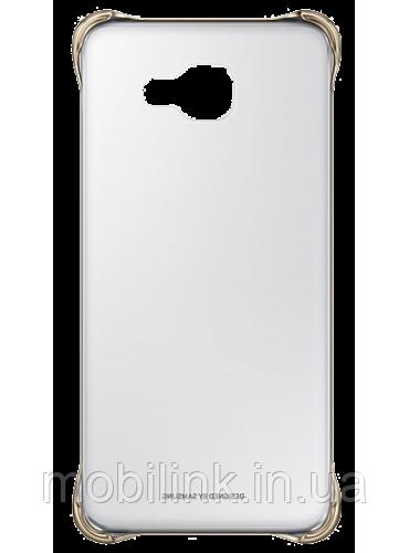 Чехол для Samsung A710 Clear Cover Gold (EF-QA710CFEGRU)