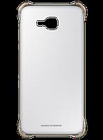 Чехол для Samsung A710 Clear Cover Gold (EF-QA710CFEGRU), фото 1