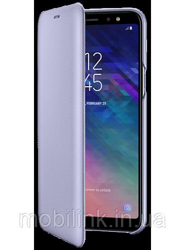 Чехол Samsung Wallet Cover Violet для Galaxy A6+ A605