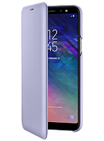 Чехол Samsung Wallet Cover Violet для Galaxy A6+ A605, фото 1